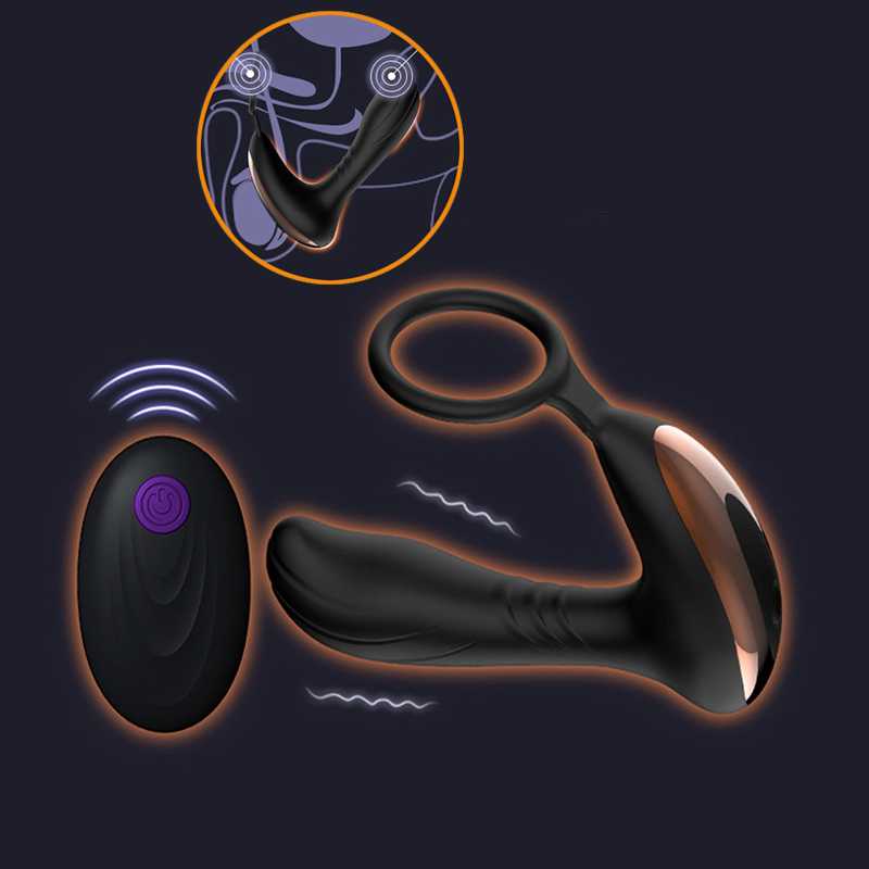 Prostate Massage Wireless Remote Anal Vibrator for Men G Spot 7 Speed Vibrators Butt Plug Clitoris Anal Plug Sex Toys for Men lycopene 40 mg supports prostate