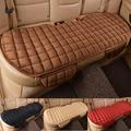 car styling Car Vehicle Back Rear Row Grid Seat Cushion four seasons general Super luxury Car Seat Protector Mat Car Seat Cover