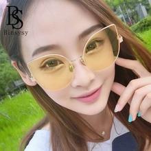Women Big Cat Eye Sunglasses Female
