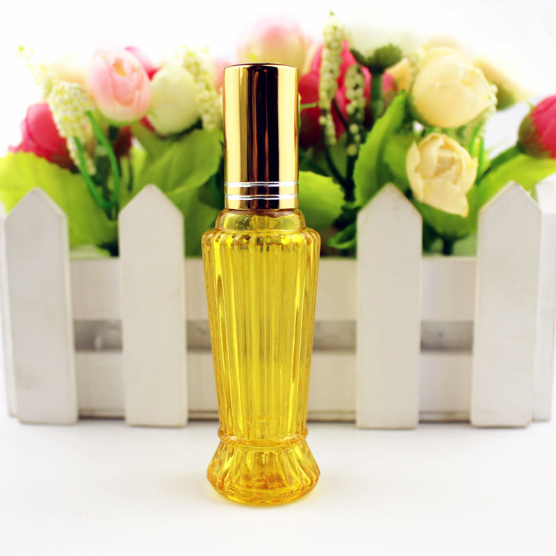 Image 5 - 10pcs/lot 15ml Colorful Glass Perfume Bottle Thick Mini Empty Fragrance Cosmetic Packaging Spray Bottle Refillable Glass VialsRefillable Bottles   -