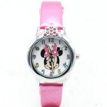 Модные милые женские и женские часы с Минни Маус, Детские Силиконовые спортивные часы с героями мультфильмов, Relogio feminino