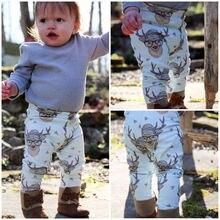 Hot New Kids Boys Girls Harem Pants Baby Printed Trousers Bottom Leggings Sweatpants