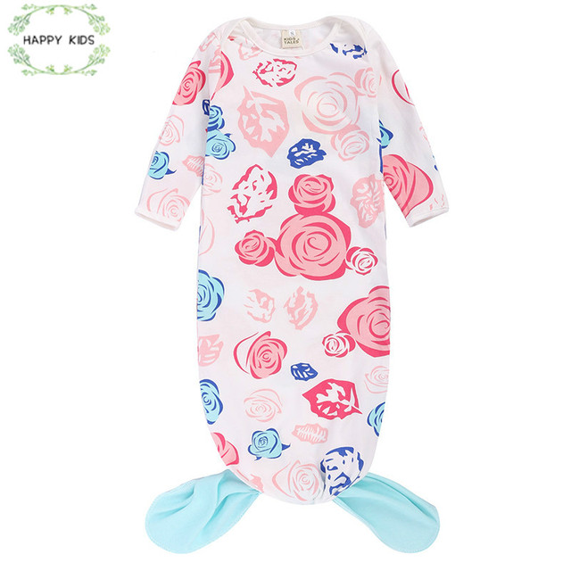 Newborn Baby Cotton Sleeping Bags Boy Infant Child Floral Animal Design For The