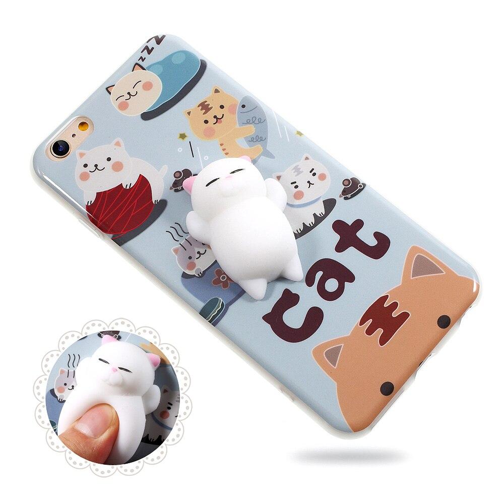 Squishy Iphone Case : 3D Squishy Cat iPhone Cases