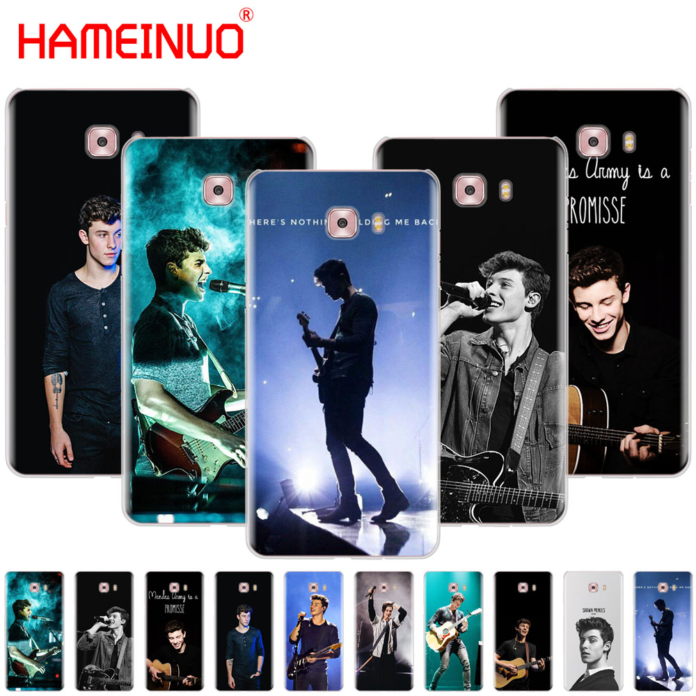 HAMEINUO Hit pop singer Shawn Mendes Magcon cover phone case for Samsung Galaxy C5 C7 C8 C9 C10 J2 PRO 2018