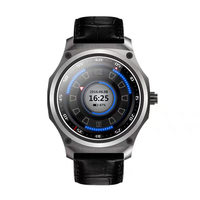 Смарт-часы телефон 512 МБ + 4 ГБ поддержка GPS Wi-Fi Y5 quad-core 6580 новый тип нержавеющей стали HD круглый SmartWatch для Android