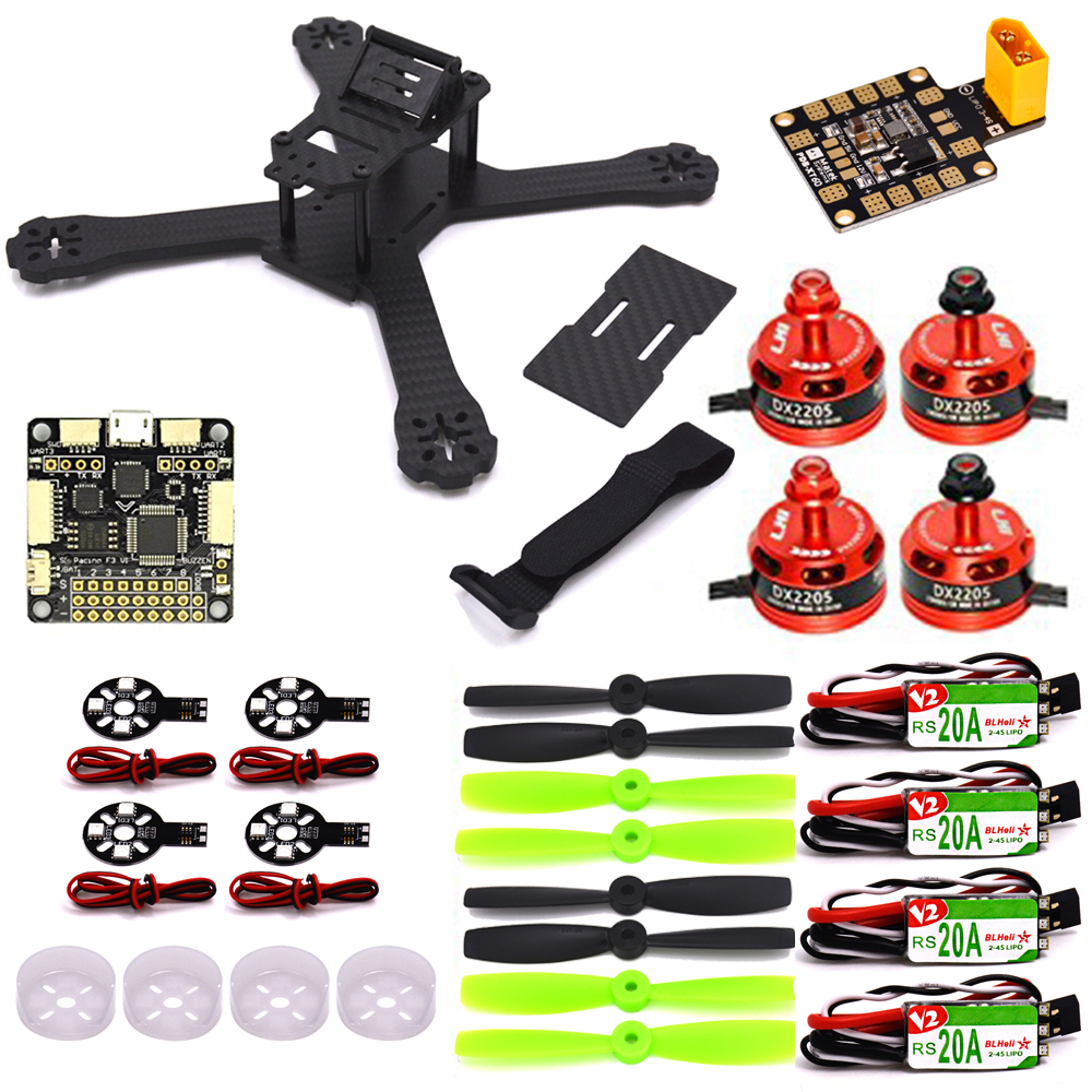 X210 quadrocopter mini drone professional 4mm Carbon Fiber FPV Racing Frame 4PCS RS20A  DX2205 cw/ccw Matek PDB-XT60 quadcopter synthesis of allicin its derivatives and inclusion complexes