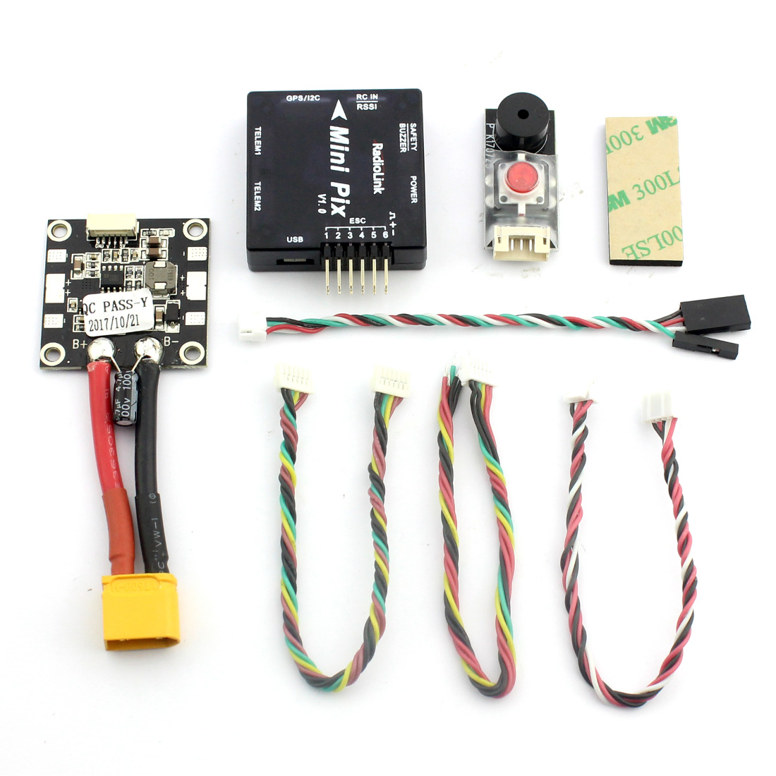 Image 3 - Radiolink Mini PIX M8N GPS Flight Control Vibration Damping by Software Atitude Hold for RC Racer Drone Multicopter Quadcopter-in Parts & Accessories from Toys & Hobbies