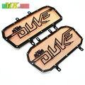 for KTM DUKE 390 duke390 125 200 Orange Radiator Guard Cover Grille Protector Motorcycle Engine Radiator Bezel Cover Protector