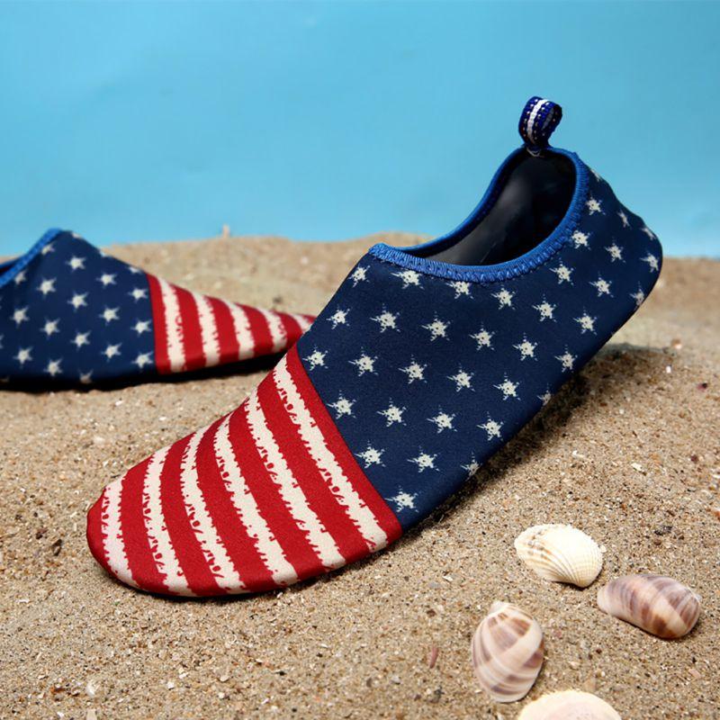 Férfi női mezítlábas bőr zokni csíkos cipő Strand medence - Tornacipő