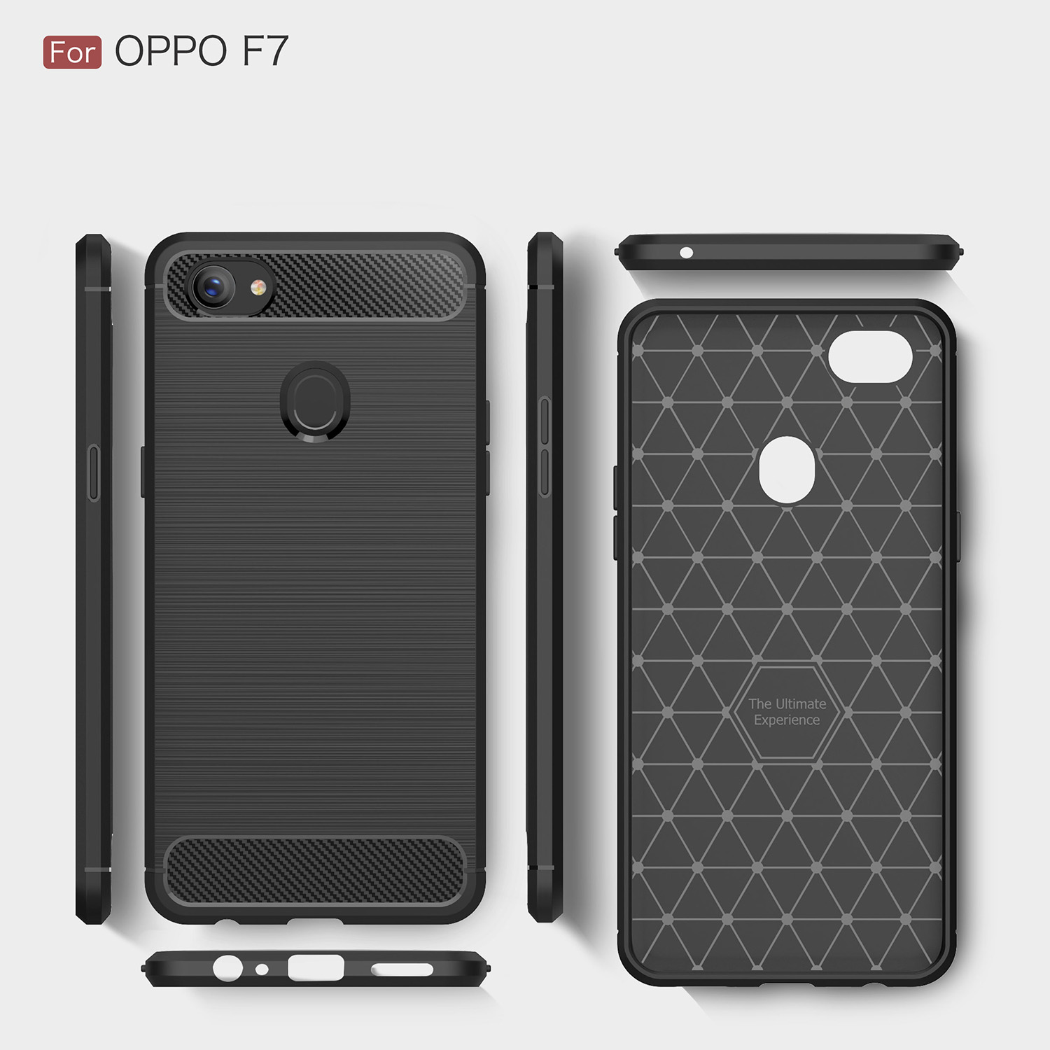 Case For Oppo F7 CPH1819 CPH1821 CPH 1819 1821 Dual SIM Silicon TPU Thin Back Cover For Oppo F 7 2018 Pure Color Phone Housing
