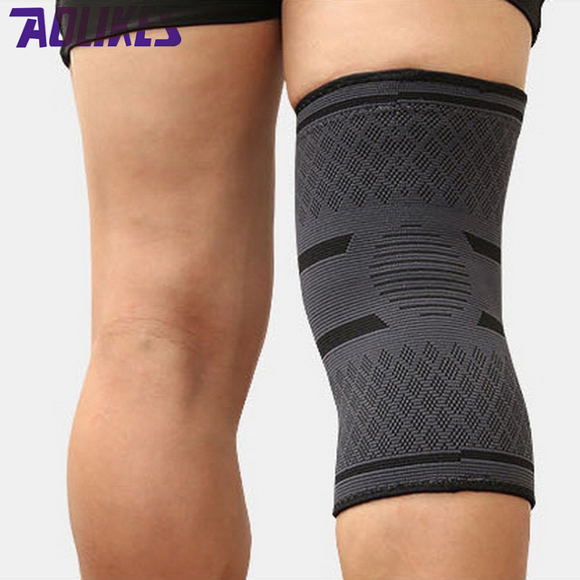 AOLIKES 1PCS Breathable Basketball Football Sport Safety Kneepad Volleyball Knee Pads Training Elastic Knee Support Knee Protect
