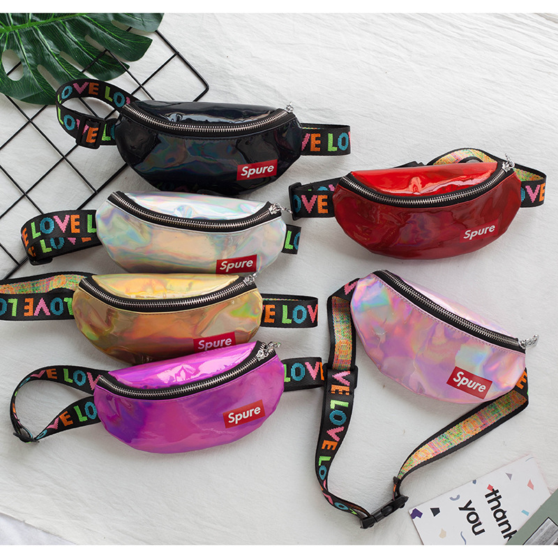 Waist-Bag Little-Girls Kids Childrens Shoulder-Bag Crossbody-Sling Designs Unisex Fashion