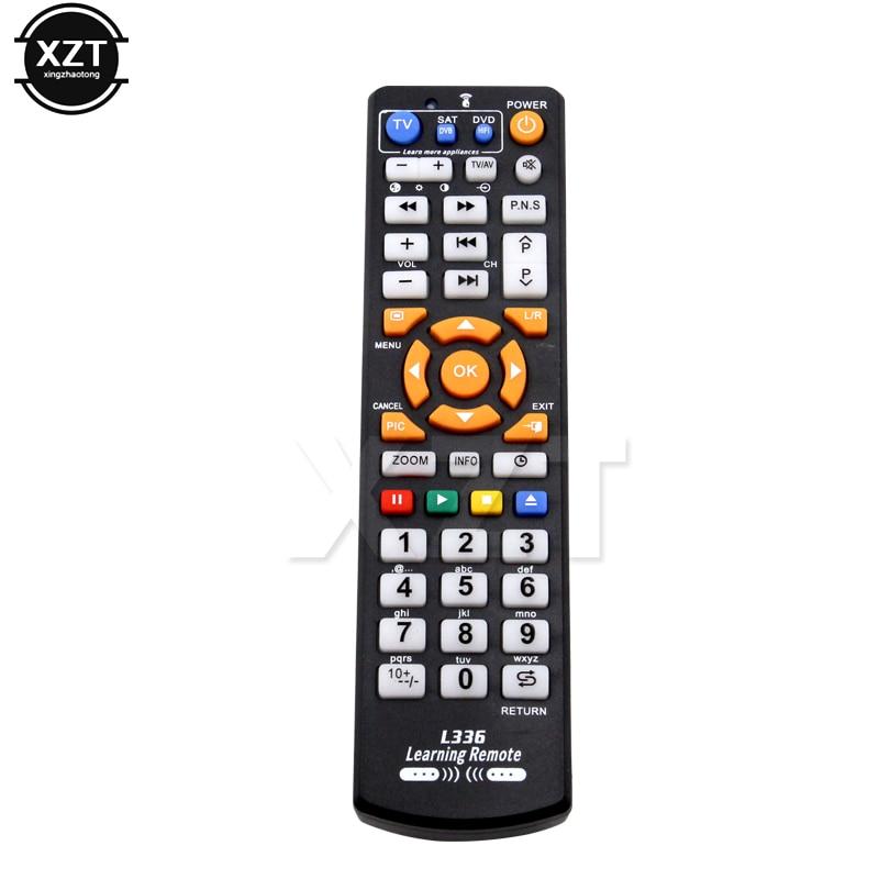 Универсальный ИК-пульт дистанционного управления L336 с функцией обучения, копия для телевизора CBL DVD SAT STB DVB HIFI ТВ-приставка видеомагнитофон с...