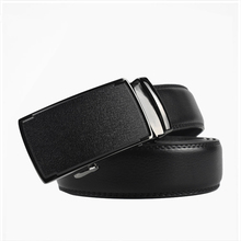 Belt men's leather automatic buckle youth casual Korean leather belt middle-aged smooth young student belt цена и фото