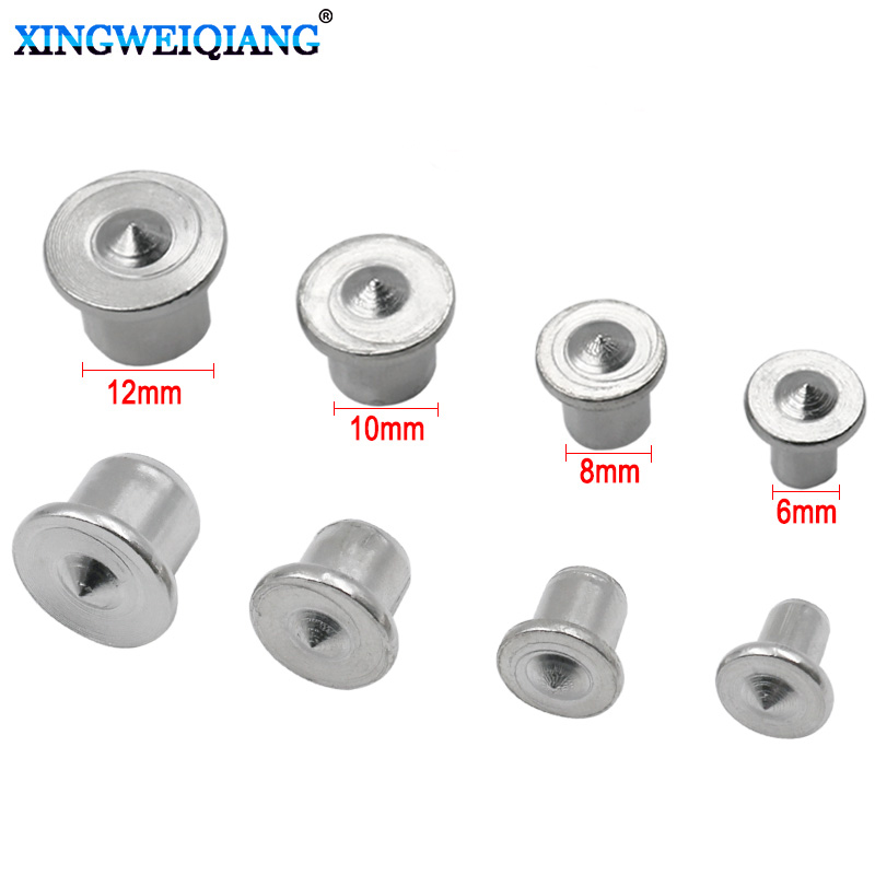 Woodworking Tools Dowel Centre Point Pin Set 4pcs 6mm 8mm 10mm 12mm Dowel Tenon Center Set Transfer Plugs Wood Drill