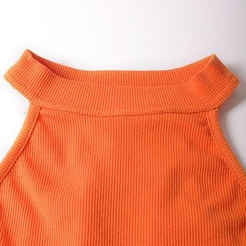 Sheath Soild Bodysuit  6
