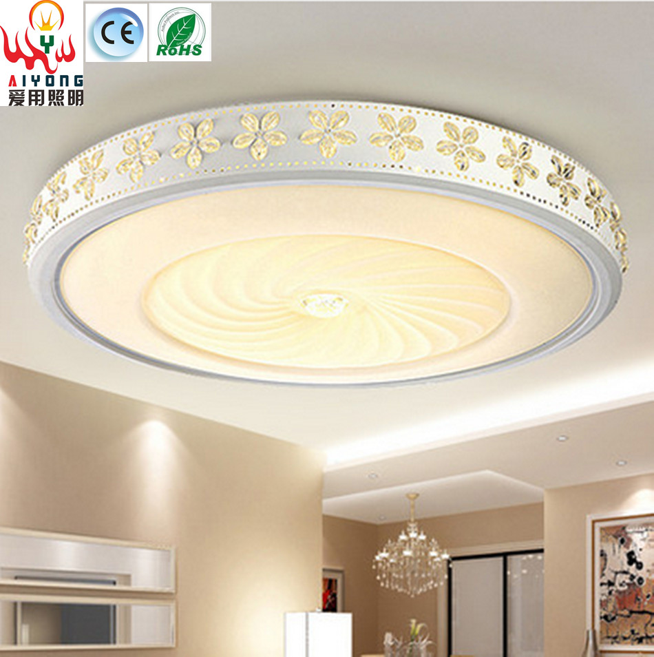The simplicity of modern energy-saving LED circular ceiling lamps bedroom decorative lamp room corridors porch lamp e27 15w trap lamp uv spiral energy saving lamps purple white
