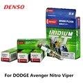 4 шт./компл. DENSO автомобильная свеча зажигания для DODGE Avenger Nitro Viper Iridium Platinum IK20TT