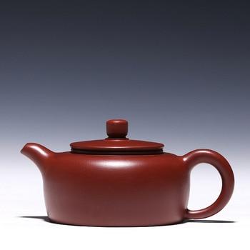 High Capacity Chinese Kung Fu Tea Set Authentic Yixing Zisha Purple Clay Teapot All Handmade Ceramics Xishi Pot Kettle 160ml