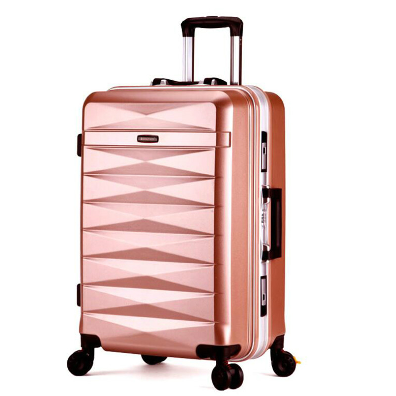 Frugal Kaweida 2024 Men And Women Abs Spinner Travel Suitcase Rolling Luggage Case Hard Kinder Koffer Luggage & Bags