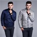 2016 New Double-Side 1Jacket 2Colors Casual Ultralight Mens Down Jackets Autumn Winter Jacket Men Duck Down Jacket coats  A2212