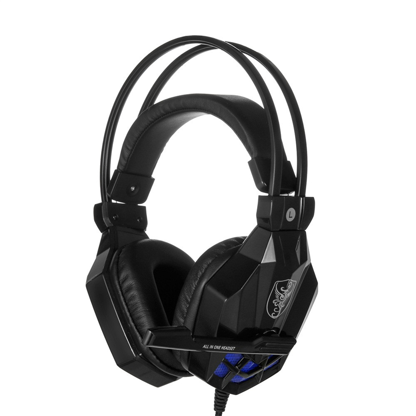 Headset for PC Surround Stereo Gaming Headband Headphone 3.5mm with Mic Futural Digital Drop Shipping AUGG11