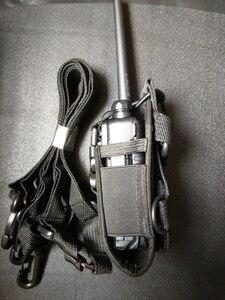 Image 4 - MSC 20E Walkie talkie bag&Nylon Radio Case Holster for handheld Baofeng UV 5R B5 walkie talkie radio holder bag