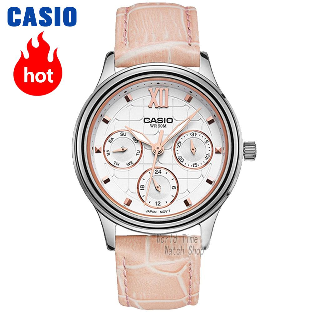 Casio watches fashion business women watch LTP-E306L-4A LTP-E306L-7A LTP-E306D-4A LTP-E306D-7A LTP-E306SG-1A mip2c2 dip 7