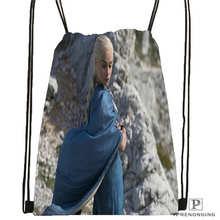 Custom Game-of-Thrones Drawstring Backpack Bag Cute Daypack Kids Satchel (Black Back) 31x40cm#180611-01-29