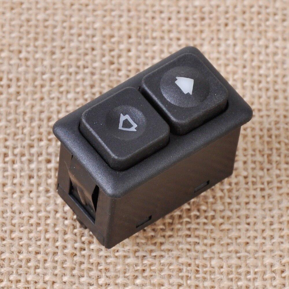 Dwcx oem 61311381205 novo preto 5pin iluminado interruptor da janela de energia frente lado esquerdo para bmw e23 e24 e28 e30 bw102 613 113 812 05