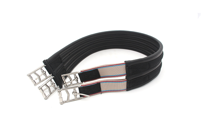 Aoud Horse Halter Horse Riding Equipment Girth Leather Horse Racing Dressage Equestrian Stainless Steel Buckle Horse Girth