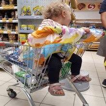 Чехол для детской тележки для супермаркета, сумка для покупок, чехол для детской тележки, чехол для сиденья, многоразовый чехол для детской тележки 2N