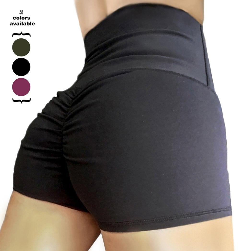 Дропшиппинг Для женщин Butt Lift стрейч Высокая Талия Леггинсы тренажерный зал Йога тренировки брюки Activewear узкие колготки