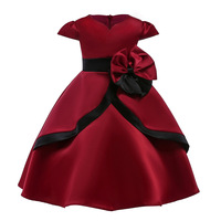 LJWWMTZ Kids Dresses For Girls Princess Dress 18 Summer Girls Birthday Party Dress Flower Wedding Dress Children Clothing K2672