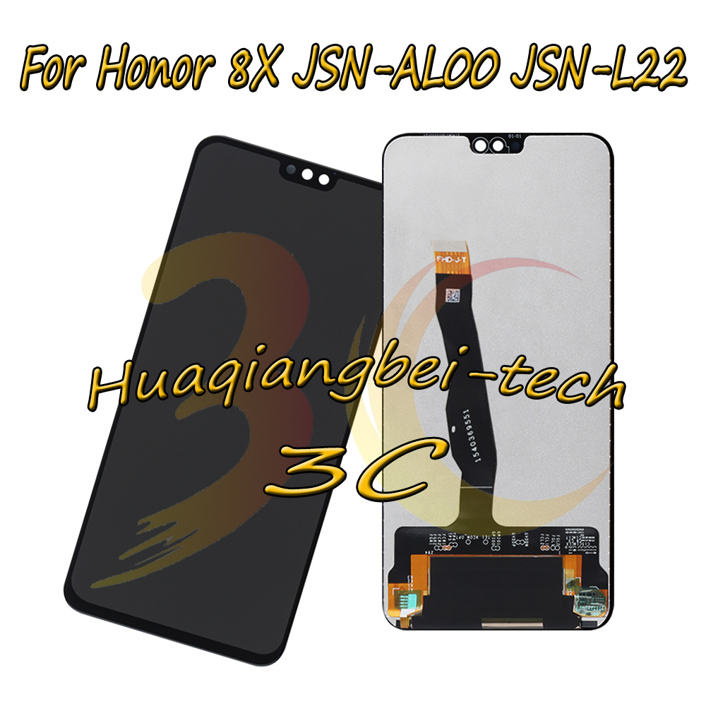 6.5 New For Huawei Honor 8X JSN-AL00 JSN-L22 JSN-L21 Full LCD DIsplay +Touch Screen Digitizer Assembly Replacement 100% Tested6.5 New For Huawei Honor 8X JSN-AL00 JSN-L22 JSN-L21 Full LCD DIsplay +Touch Screen Digitizer Assembly Replacement 100% Tested
