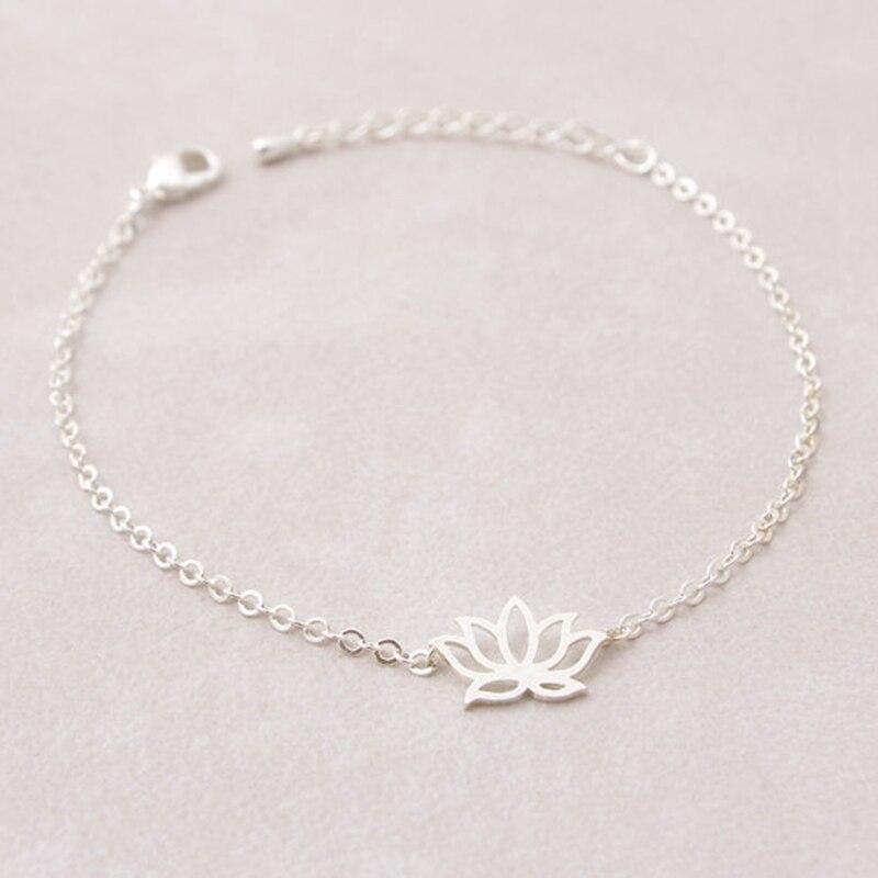 Браслет цветок лотоса