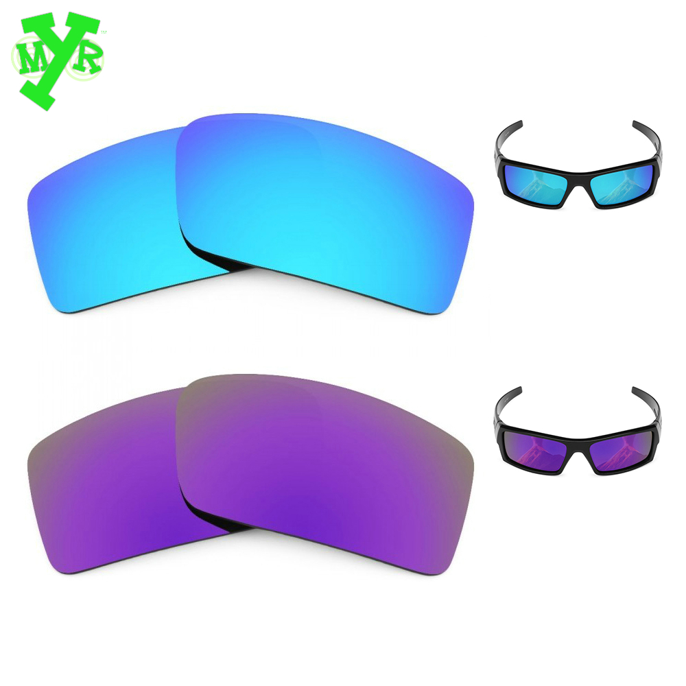 9b2f3baee6 MRY Ice Blue   Plasma Purple 2 Pair POLARIZED Replacement Lenses for OAKLEY  Sunglasses GASCAN SMALL Frame