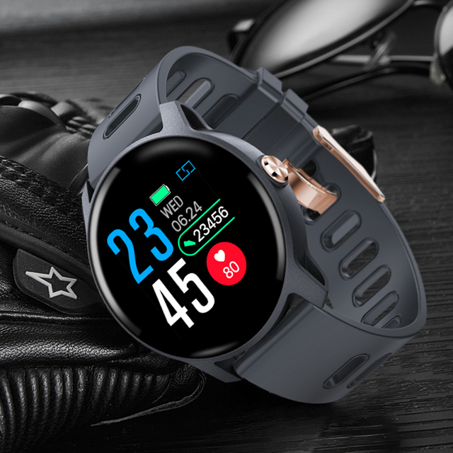 SENBONO S08 IP68 Waterproof  Smart Watch Men Fitness Tracker Heart Rate monitor Smartwatch Women Clock for android IOS Phone