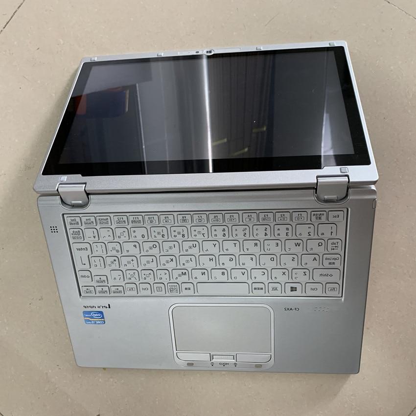 Cf AX2 ноутбук i5 8g используется сенсорный экран 360 градусов вращения с 480 ГБ SSD Суперскоростной windows 7 2 года гарантии