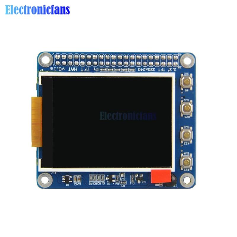 2.2 2.2 inch 320x240 LCD TFT Screen Display Module Resistive Panel Shield Support for Raspberry Pi 3 Model B 3B/2B/B+ High PPI2.2 2.2 inch 320x240 LCD TFT Screen Display Module Resistive Panel Shield Support for Raspberry Pi 3 Model B 3B/2B/B+ High PPI
