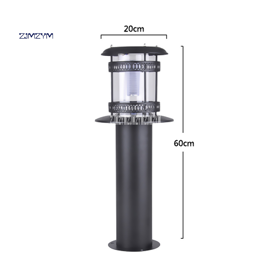 цены ZJMZYM New Arrival 60cm Lawn Light ZC-CPD9209 Solar LED Landscape Garden Lights Outdoor Waterproof Grass Lighting Lamp 6-8 Hour