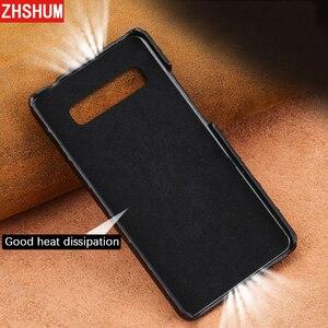 Image 5 - Luxury Genuine Crocodile Leather Case For Samsung S10 Plus S10 Lite E Note 10 Pro Case Handmade Skin Back Cover for Galaxy Note 9 10 8 S9 S8 Plus + fundas S10e s10Lite S10+ shell couqe