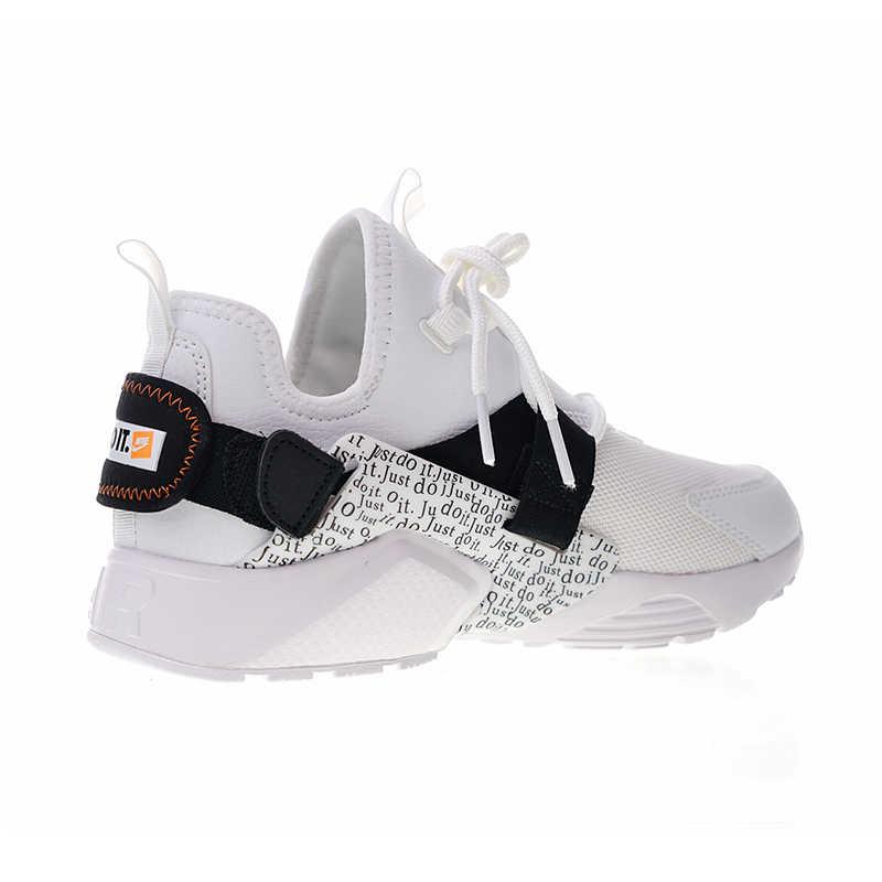 Originale Autentico Nike Air Huarache Città Low Prm Just Do It Runningg Scarpe Scarpe Da Tennis delle Donne di Tendenza di New Durevole Da Jogging