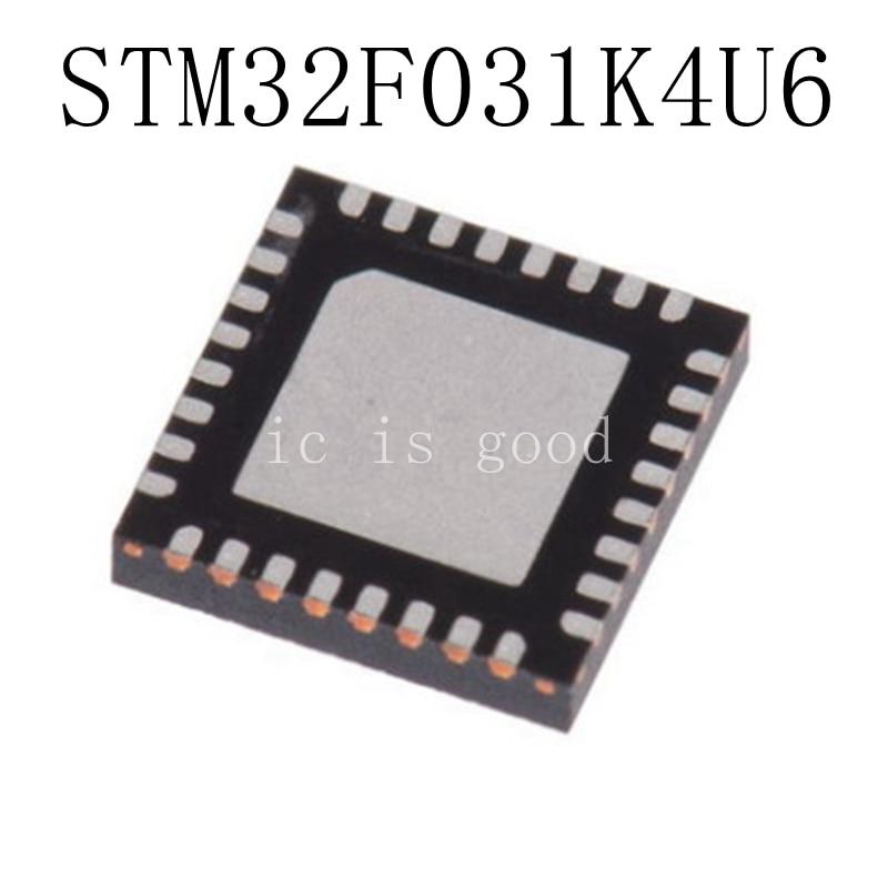 10PCS LOT STM32F031K4U6 F031K4 QFN 32 NEW