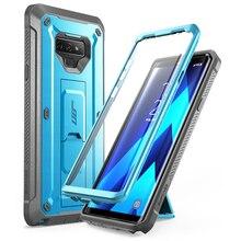 Do Samsung Galaxy Note 9 Case SUPCASE UB Pro futerał ochronny na cały korpus z wbudowanym ochraniaczem ekranu i podstawką