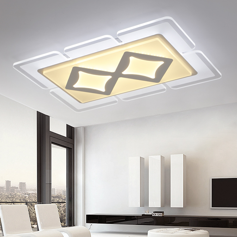 Modern LED living room ceiling lights Ultra-thin fixtures illumination Acrylic ceiling lamps home bedroom ceiling lighting