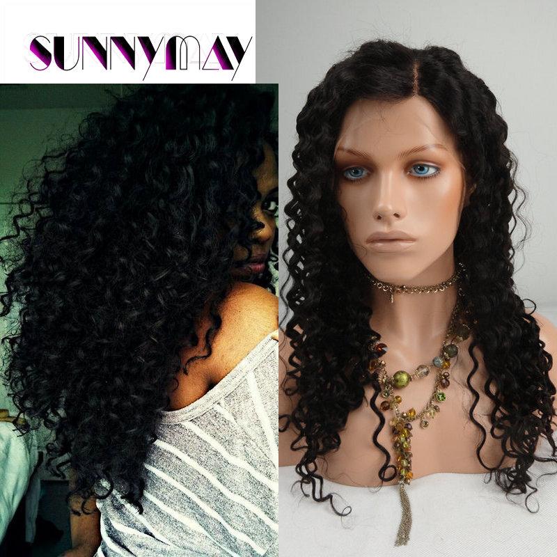 Sunnymay Hair Curly 100 Indian Virgin Human Hair Silk Top