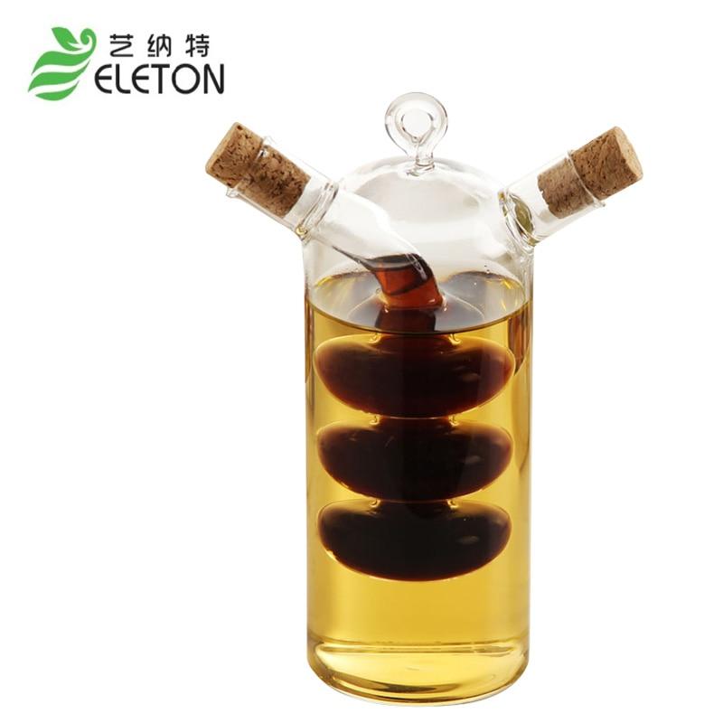 creative kitchen oil and vinegar bottles sauce glass jar. Black Bedroom Furniture Sets. Home Design Ideas