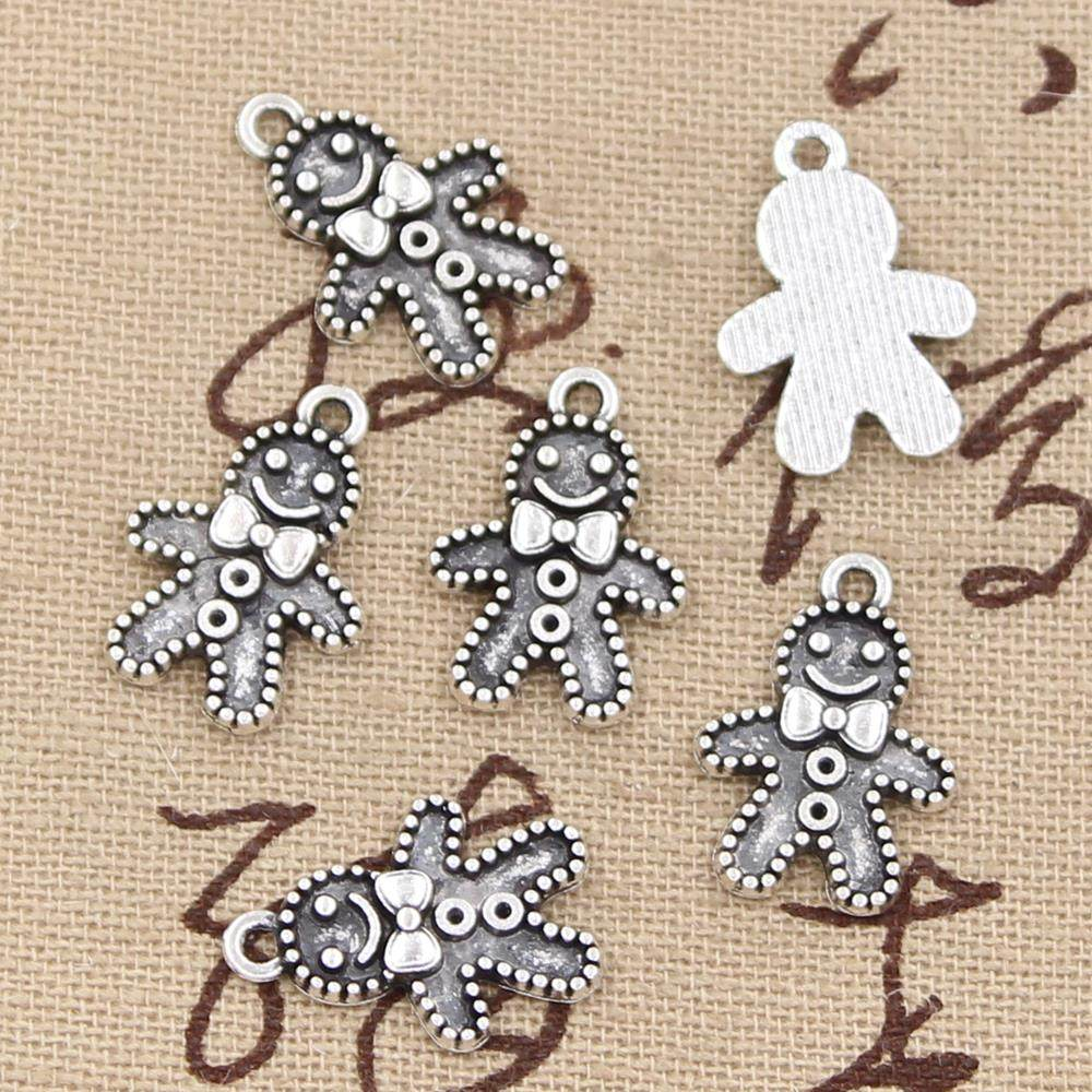 15pcs One Ring Charms silver tone Even the Smallest Person Hobbit pendant 20mm